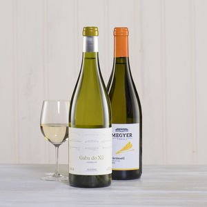 White Wine Lover's Two Bottle Gift - drinks connoisseur