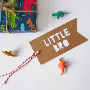 Little Brother Gift Tag