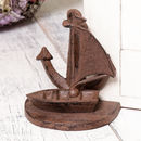 Cast Iron Nautical Anchor Door Stop