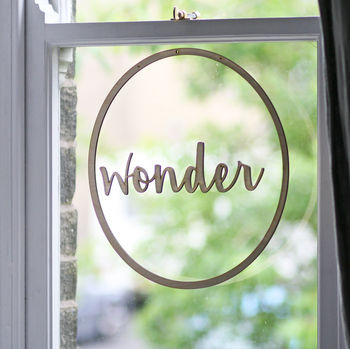 Wonder Wooden Hanging Decoration