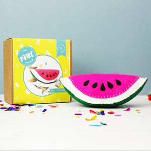 Watermelon Pin Cushion Craft Kit - pin cushions