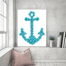 Anchor Love, Canvas Art