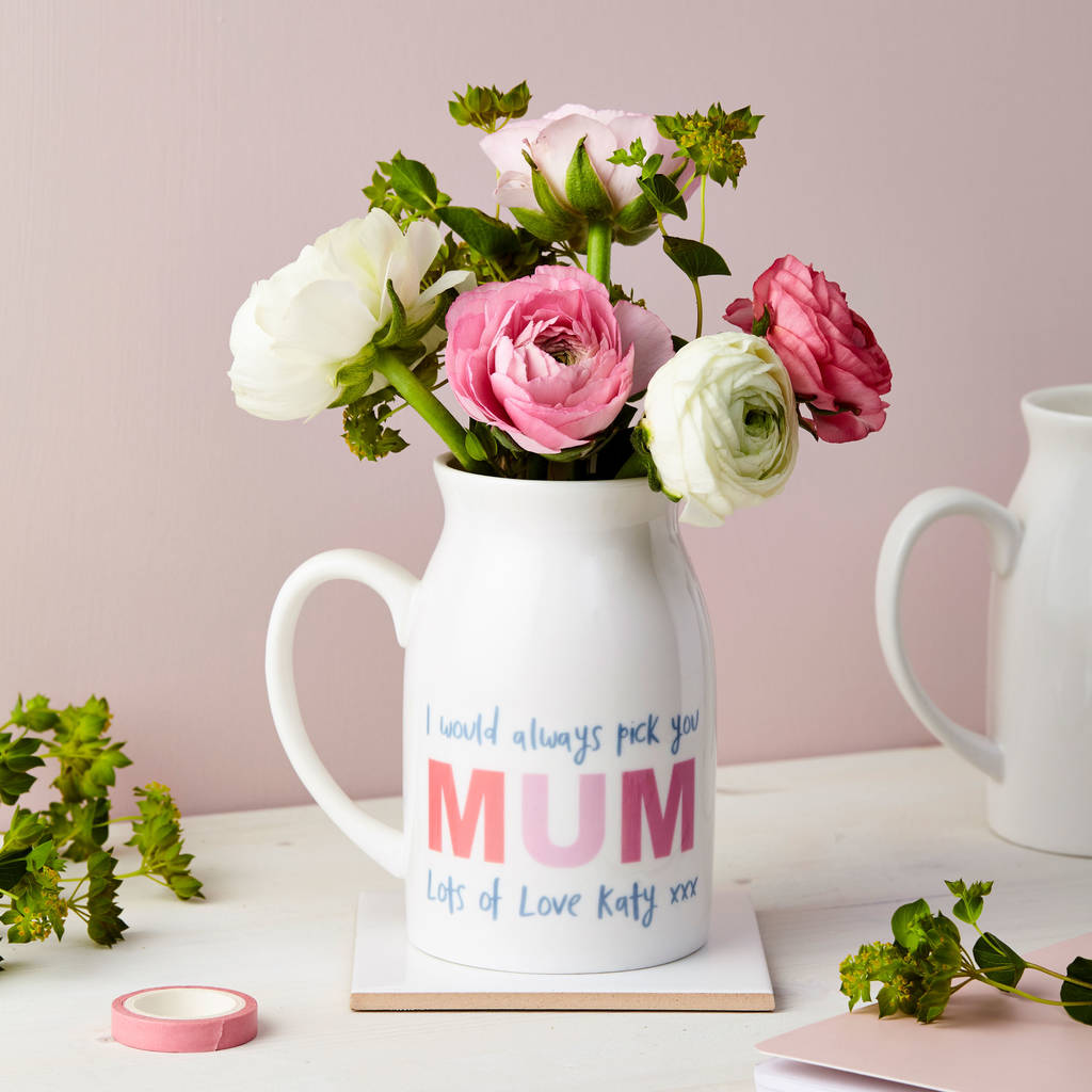 day vase md mothers favours s new glass mother personalized modern engraved personalised