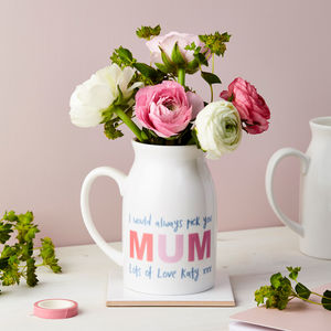 Personalised Wording Flower Vase - new in home