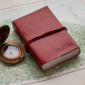 Handcrafted Leather Travel Journal