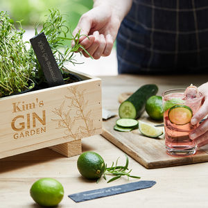 Gin Botanical Cocktail Garden Kit - personalised gifts