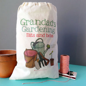 Personalised Gardening Storage Sack - gifts for him