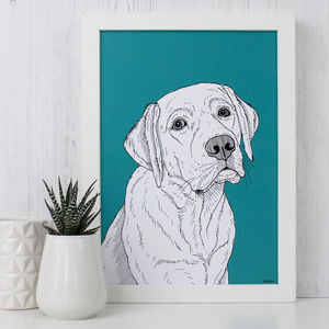 Labrador Print - animals & wildlife