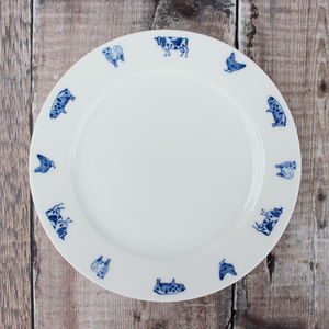 'Farm Animals' Side Plate - tableware