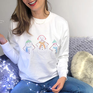 See No Evil Snowmen Christmas Jumper - our top new picks