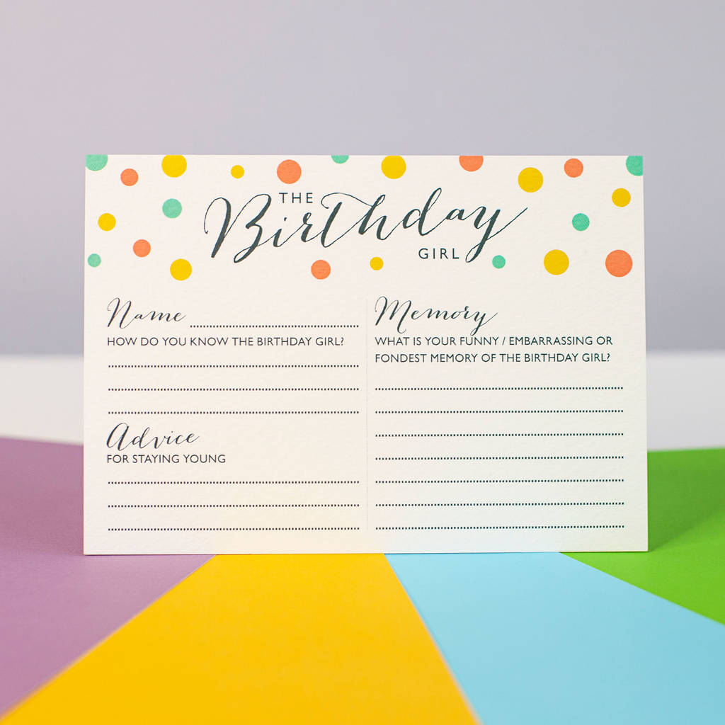 Girls Teenage Birthday Party Invitations Cards 30 Any Age