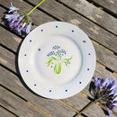 Bluebell Bone China Plate