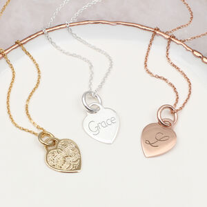 Recycled Silver Or 18ct Gold Personalised Necklace