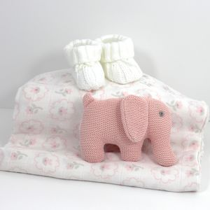 Baby Girl Elephant Bundle / Hamper - baby care