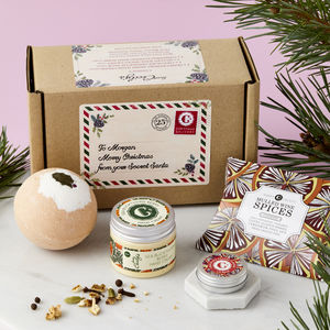 Personalised Festive Gift Set - bath & body sets