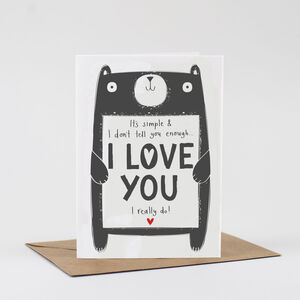 It's Simple…I Love You Valentines Card
