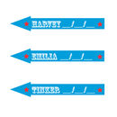 Circus Arrow Marker Personalised