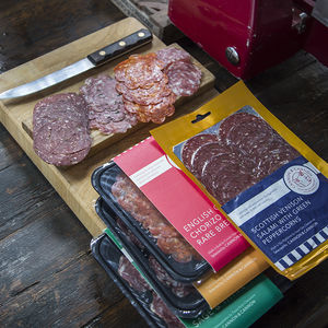 English Scottish And Welsh Sliced Salami Selection Pack
