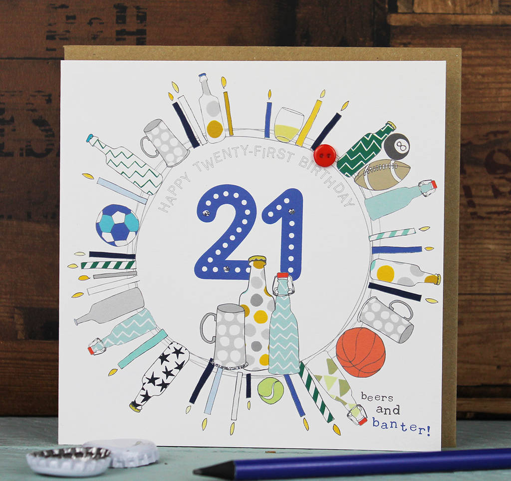 Female male 21st birthday card by molly mae notonthehighstreet female male 21st birthday card bookmarktalkfo Gallery