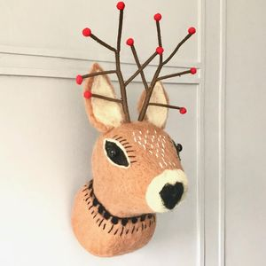 Christmas Reindeer Wall Decoration