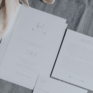 Shambala Wedding Invitation Set