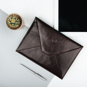 Luxury Leather iPad Pro And Air Case. 'The Ettore' - womens
