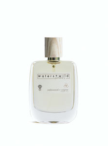 Cedarwood + Cognac Organic Eau De Parfum 50ml - bathroom