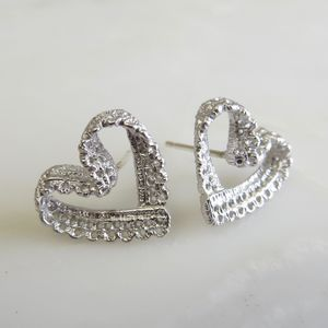 Lace Heart Studs