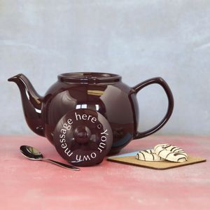 Personalised Teapot - kitchen