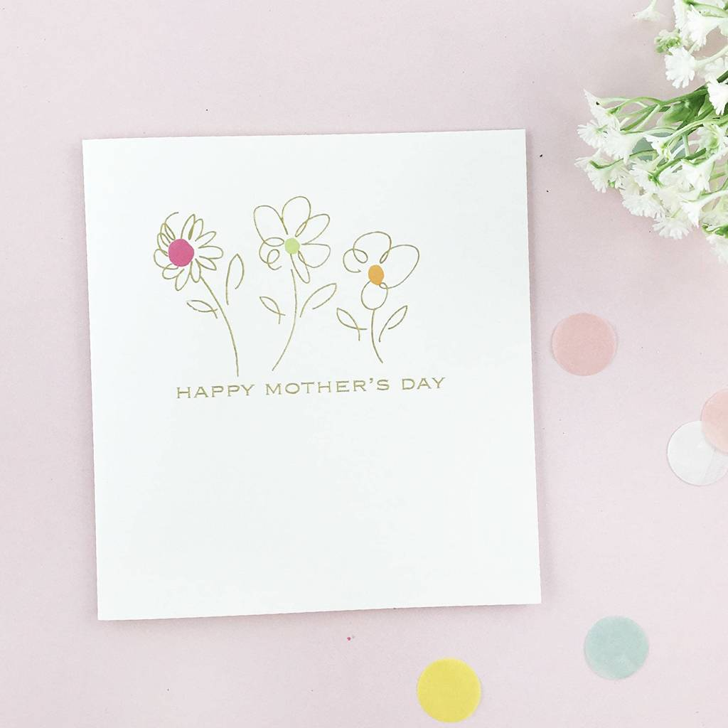 Happy mothers day card by letteroom notonthehighstreet happy mothers day card kristyandbryce Image collections