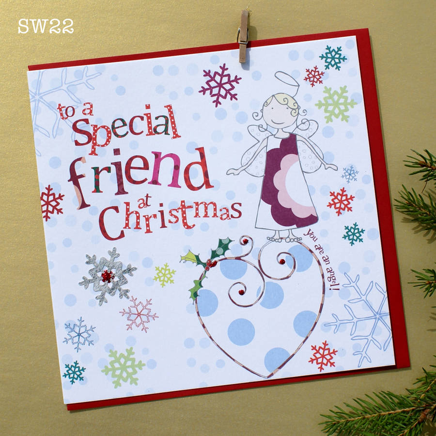 Top 10 friendship cards for christmas 2018 indoprabot a special friend christmas card by molly mae notonthehighstreet com m4hsunfo