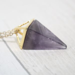 Amethyst Necklace - necklaces & pendants