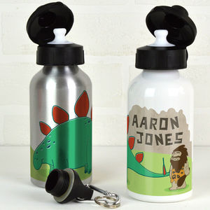 Personalised Dinosaur Water Bottle - flasks & waterbottles