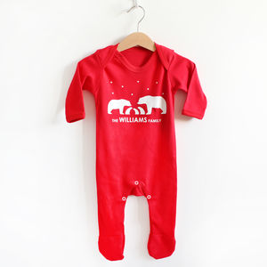 Christmas Family Romper - clothing