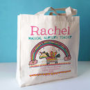 Personalised Nursery Teacher Bag