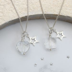 Sterling Silver Star Charm Necklace - jewellery gifts for children