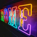 'Home' Typographic Neon Light Sign