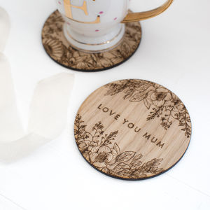 'Love You Mum' Coaster