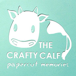 The Crafty Calf Logo