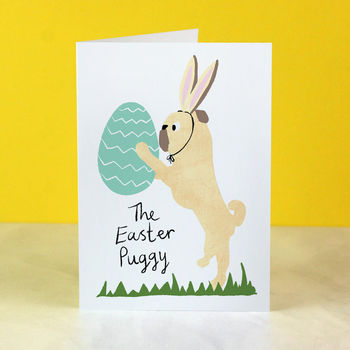 'The Easter Puggy' Easter Card
