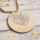 Personalised 'Best Friends Are Never Apart' Keepsake