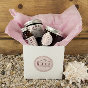 Buff Mama Personalised Pamper Box Free Delivery - mum loves pampering