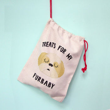Dog Treat Bag Personalised