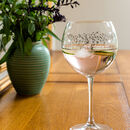 Ltd Edition Silver Birch Gin Glass