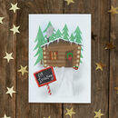 Elf Isolating Christmas Card / Pack