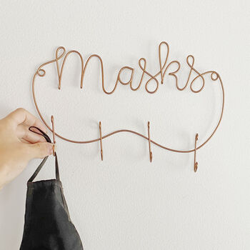 Wire Mask Holder