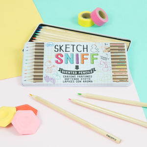 Sketch And Sniff Pencils - summer sale