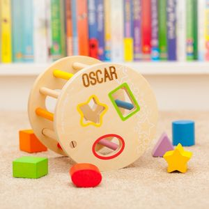 Rolling Personalised Shape Sorter Toy