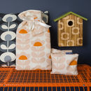 Orla Kiely Warmers Gift Set In Sweet Pea