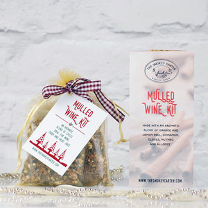 Christmas Mulled Wine And Cider Kit - wines, beers & spirits